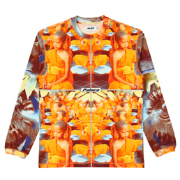 Palace Mantra LS T-Shirt - Orange