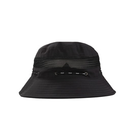 Palace Shock Shell Bucket - Black
