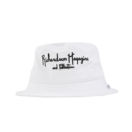 Richardson Magazine Bucket Hat- White