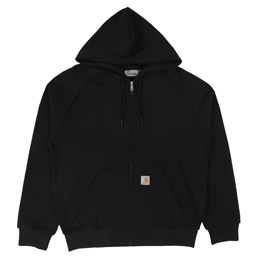 Carhartt WIP Hooded Square Label Jacket - Black