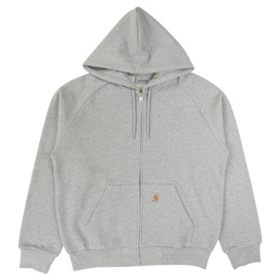 Carhartt WIP Hooded Square Label Jacket - Grey