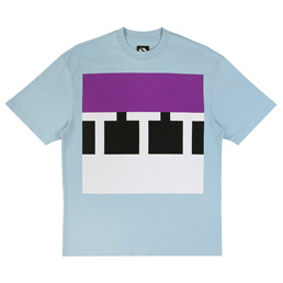 Trilogy Tapes Block SS T-Shirt - Blue