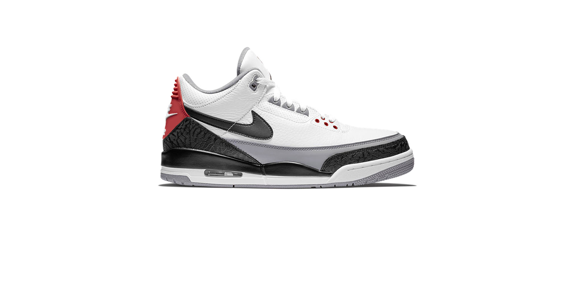 AIR JORDAN 3 RETRO TINKER NRG – WHITE/BLACK-FIRE RED-CEMENT GREY