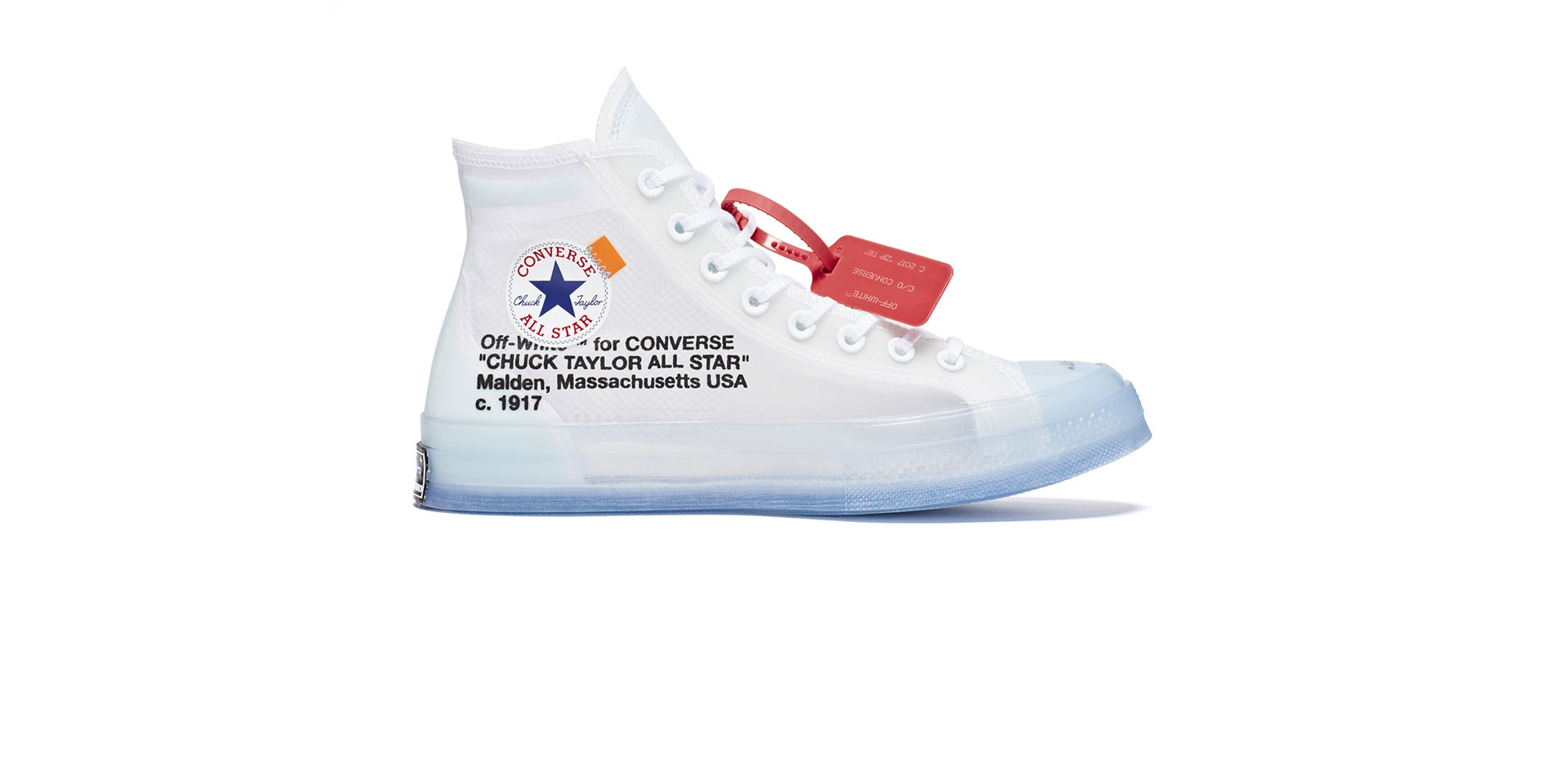 THE 10: CONVERSE CHUCK 70 HI – CLEAR/WHITE-WHITE