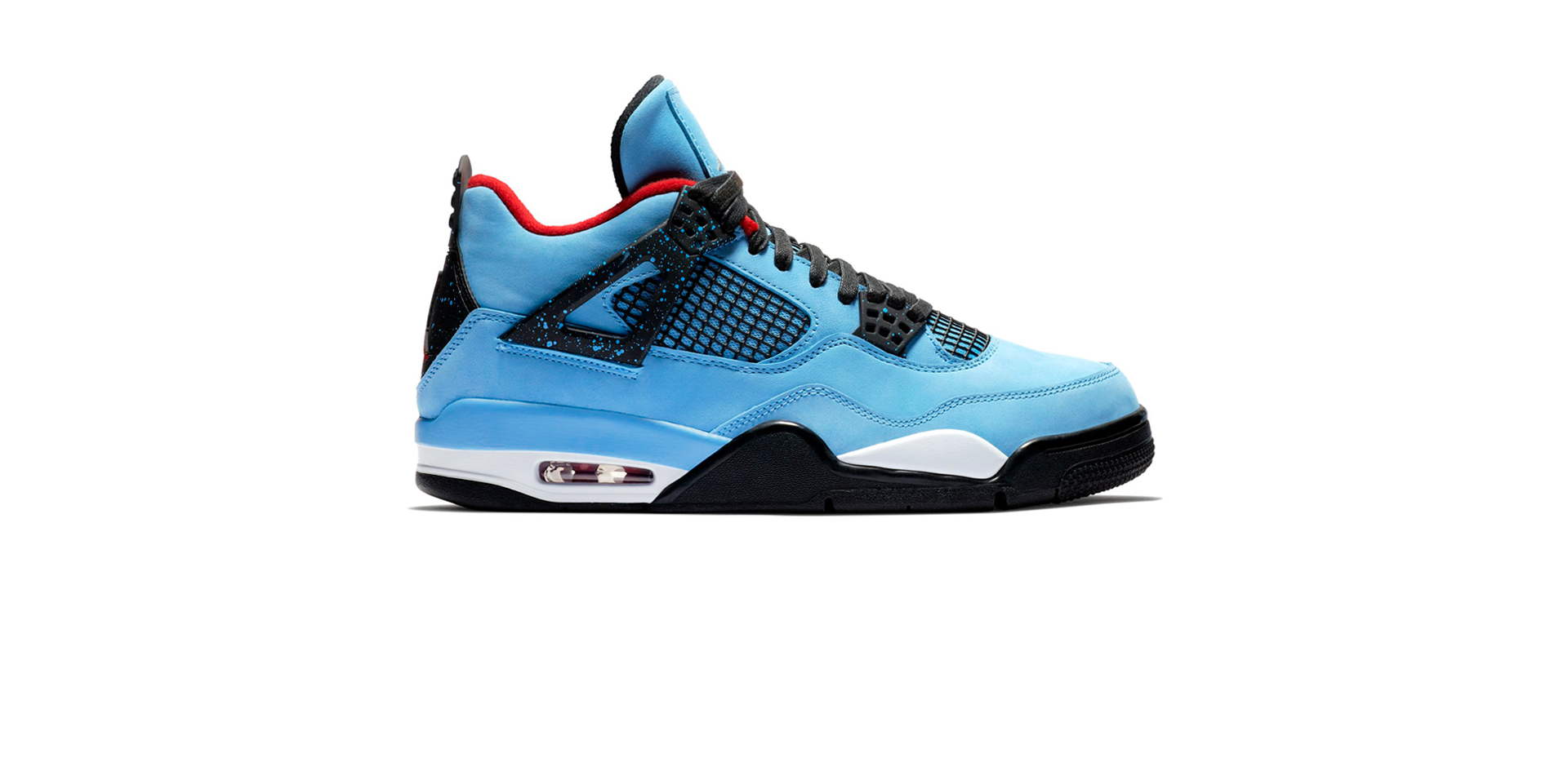 AIR JORDAN 4 RETRO UNIVERSITY BLUE/BLACK-VARSITY RED