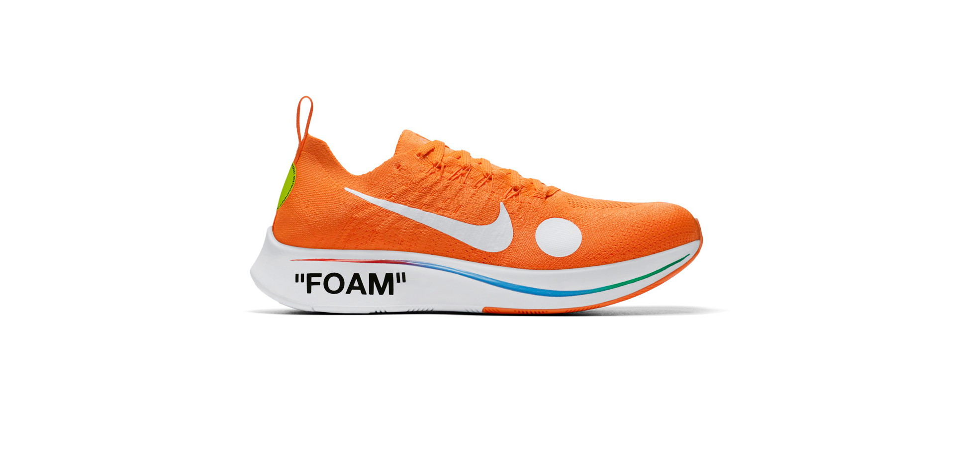 NIKE ZOOM FLY MERCURIAL FK/OW - TOTAL ORANGE/WHITE-VOLT