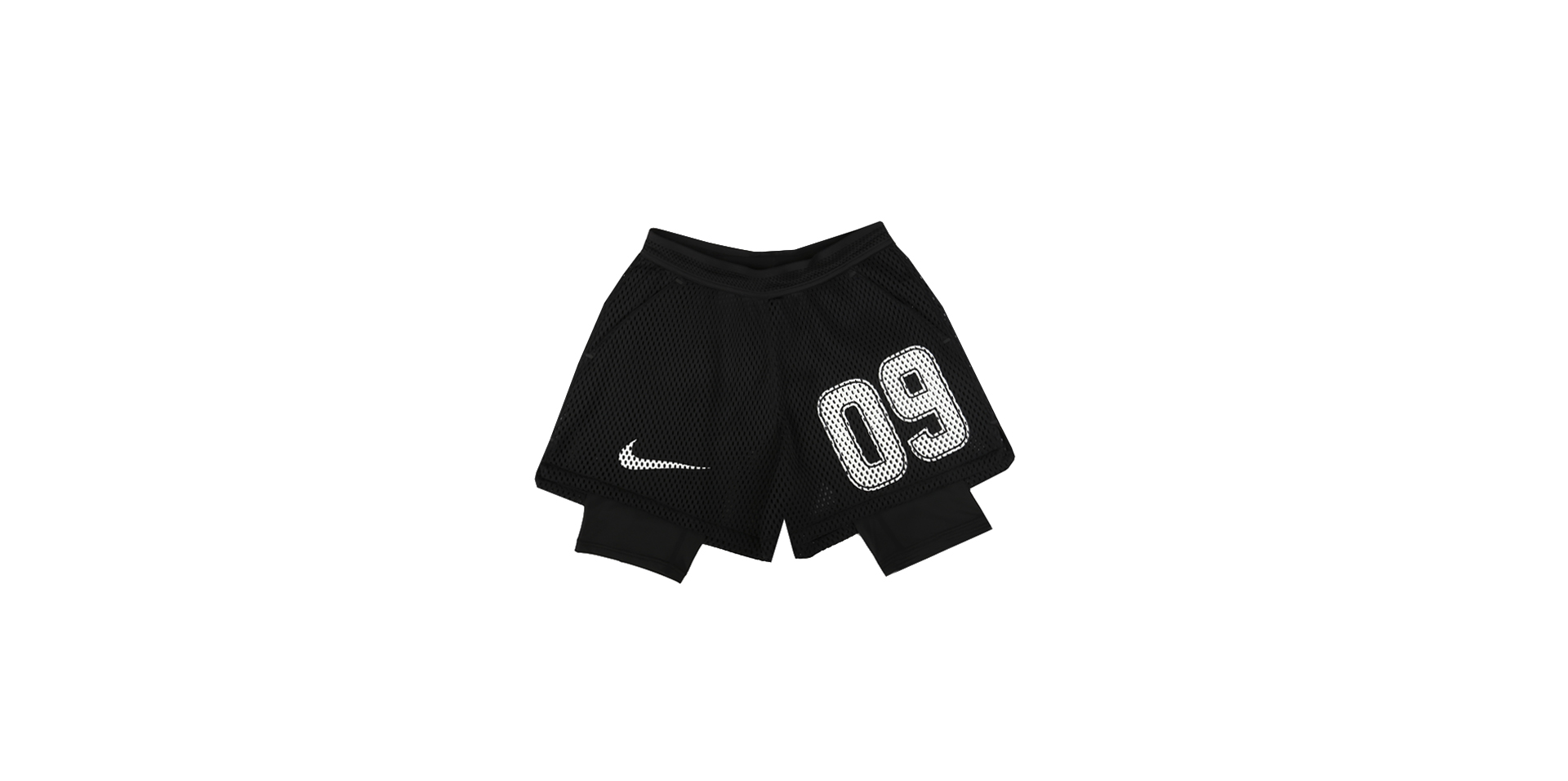 NIKELAB X OW HOME SHORT - BLACK