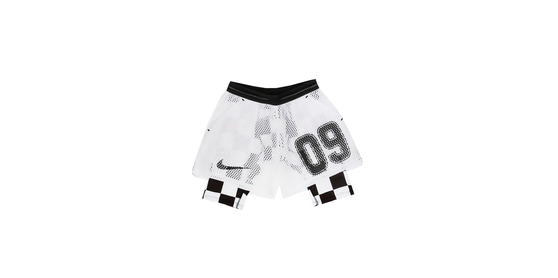 NIKELAB X OW AWAY SHORT - WHITE