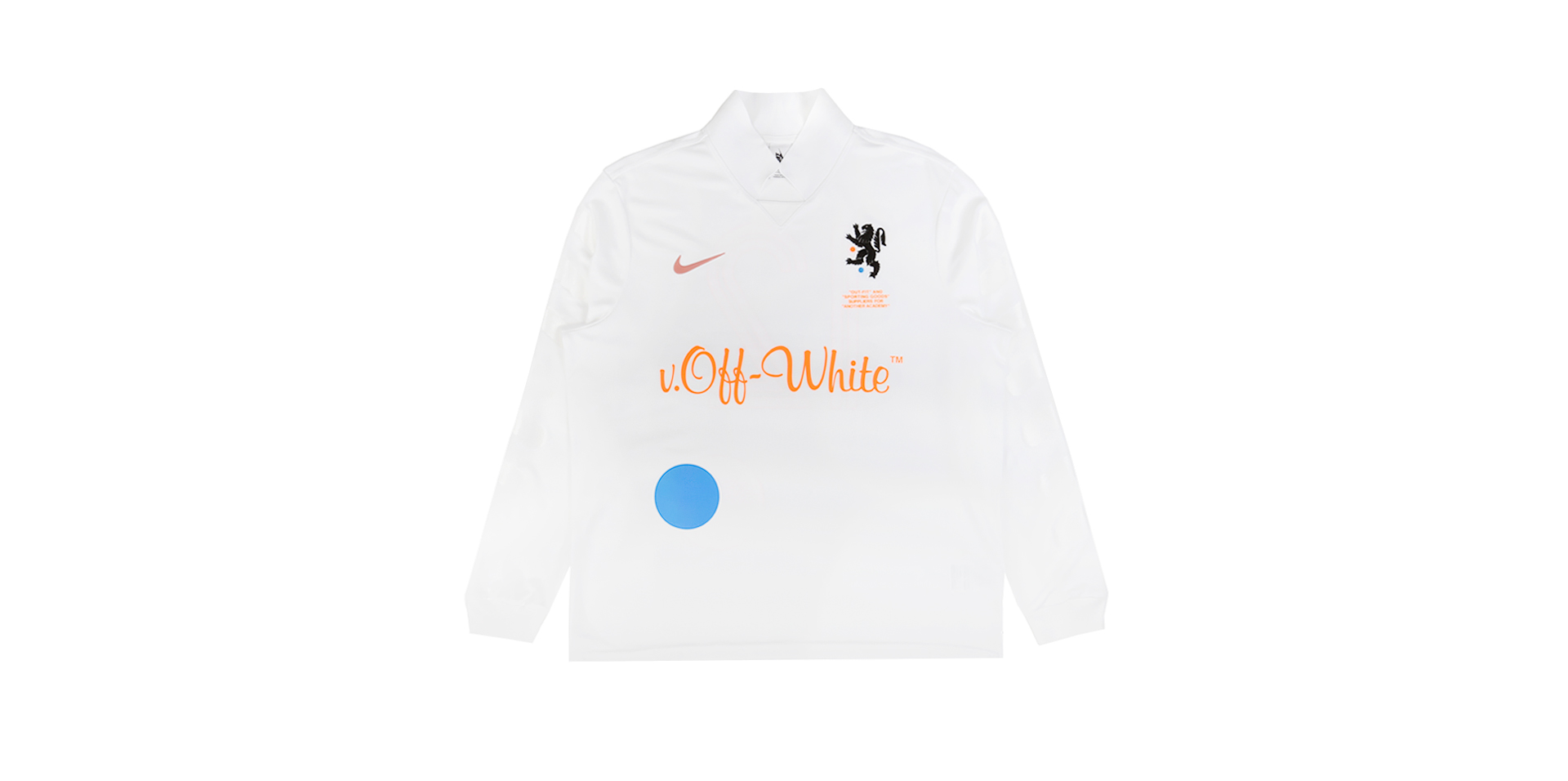 NIKELAB X OW FB JERSEY HOME - WHITE
