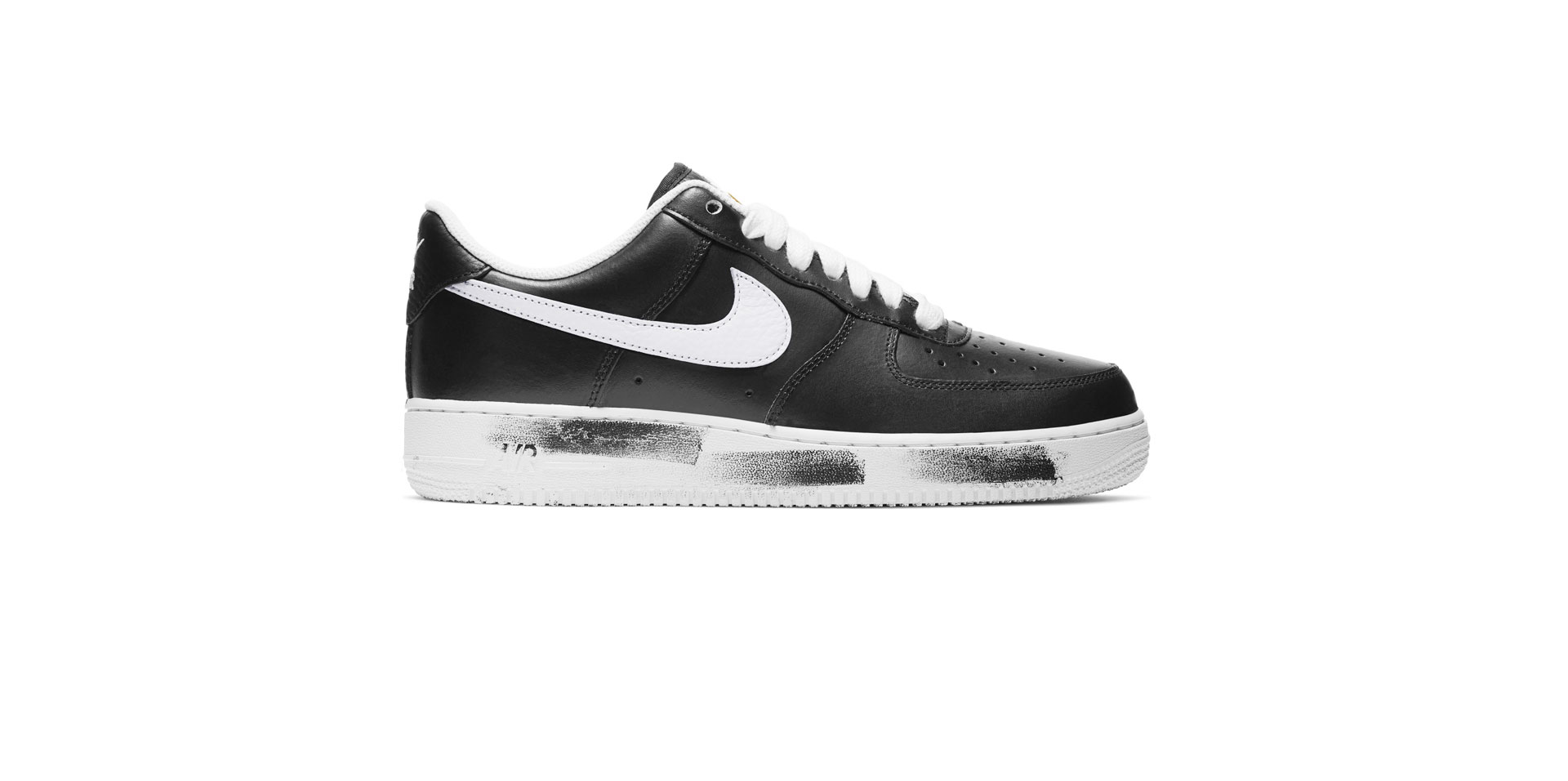 NIKE x G-DRAGON AIR FORCE 1 '07 PARA-NOISE - BLACK/WHITE