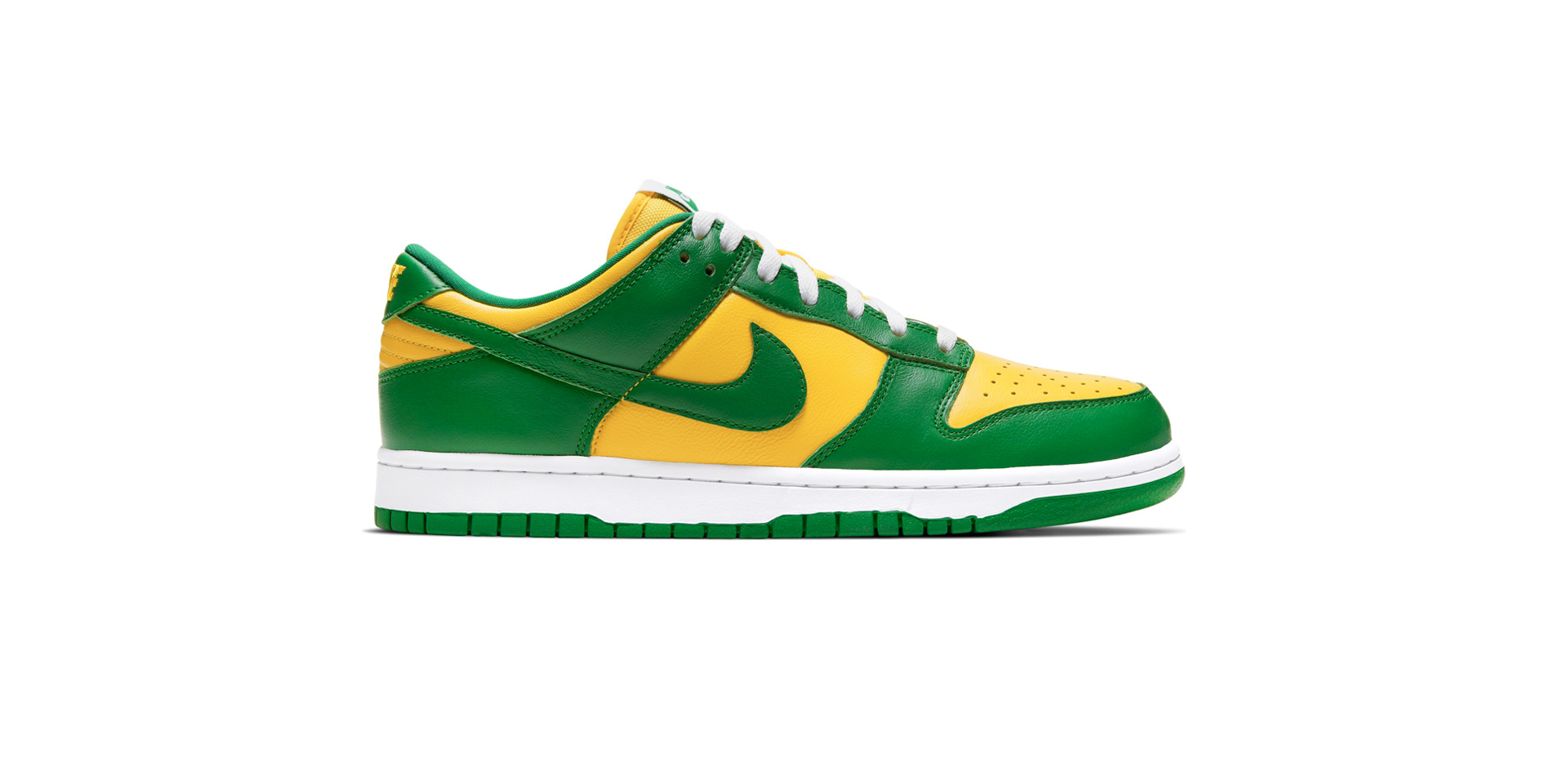 NIKE DUNK LOW SP - VARSITY MAIZE/PINE GREEN-WHITE