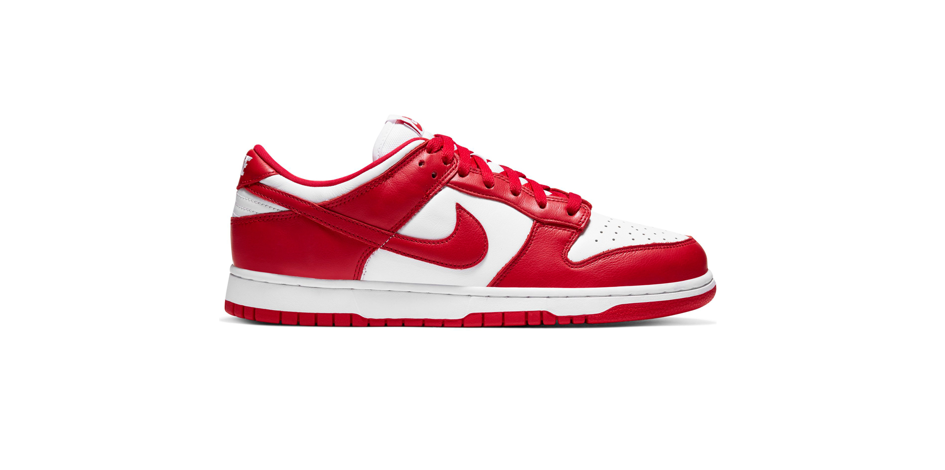 NIKE DUNK LOW SP - WHITE/UNI RED