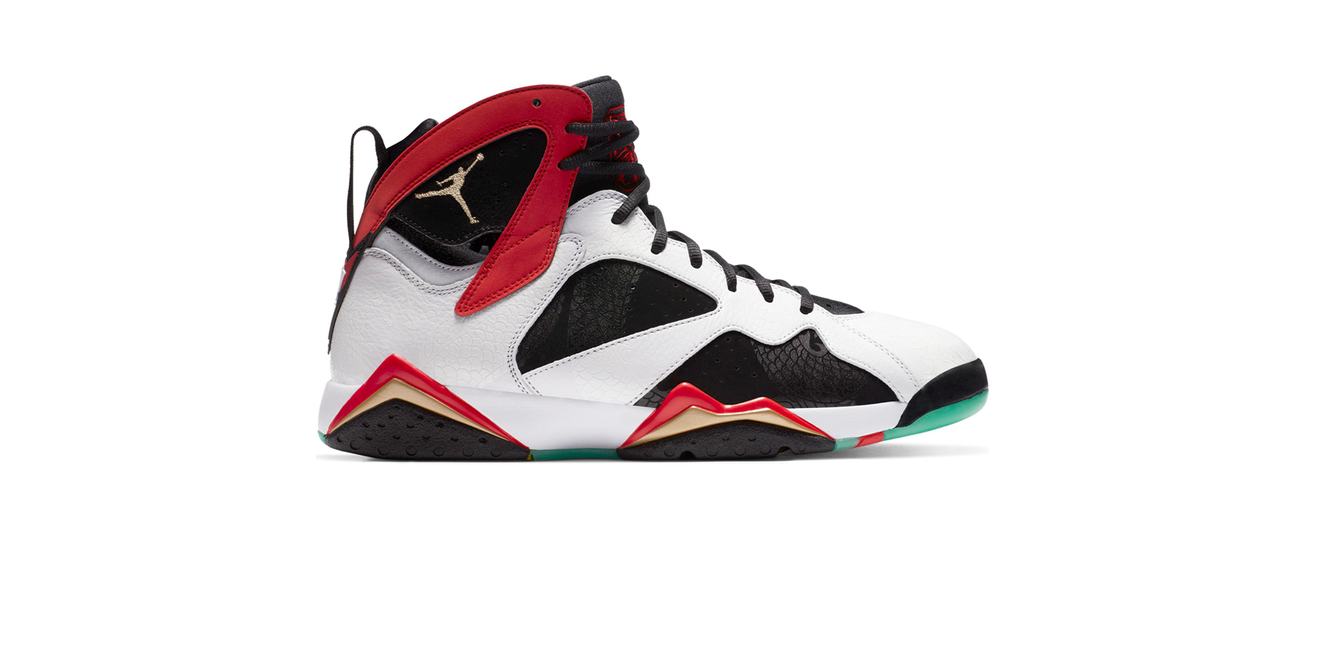 AIR JORDAN 7 RETRO GREATER CHINA - WHITE/CHILE RED-BLACK